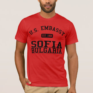 Embassy Sofia, Bulgaria T-Shirt