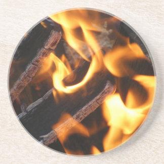 Embers & Flames Beverage Coaster