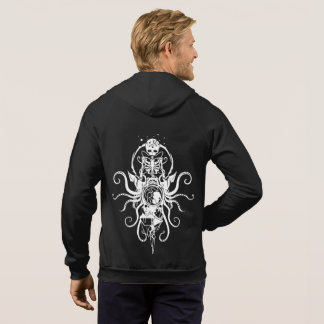 Emblem Fail Hoodie bug skeleton octopus sigil