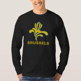Emblem Iris Brussels Bruxelles Brussel  Belgium T-Shirt