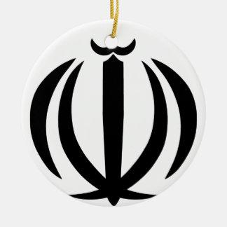 Emblem of Iran Christmas Ornament