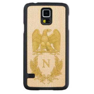 Emblem of Napoleon Bonaparte Carved Maple Galaxy S5 Case