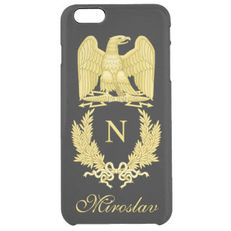 Emblem of Napoleon Bonaparte Clear iPhone 6 Plus Case
