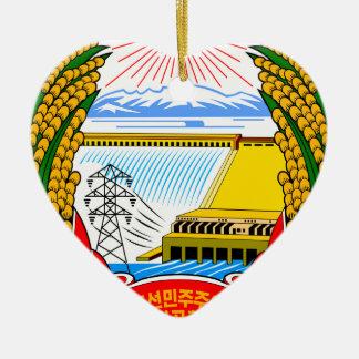 Emblem of North Korea Christmas Ornament