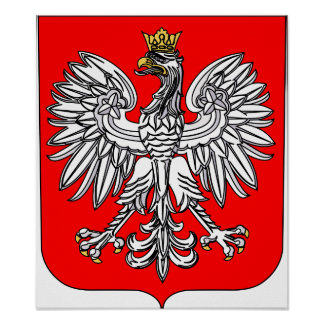 Emblem Of Poland Poster