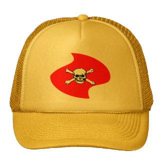 Emblem of skull cap