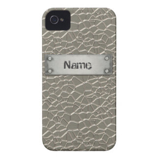 Embossed Aluminium Case-Mate iPhone 4 Case