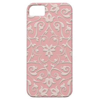 Embossed Arabesques Barely There iPhone 5 Case