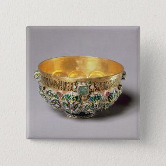 Embossed bowl set 15 cm square badge