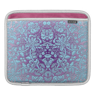 Embossed Damask Sleeve For iPads