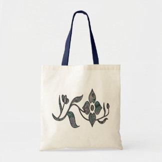 Embossed Floral Ladies Tote Tote Bags