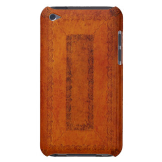 Embossed Leather book cover iPod Touch Cases