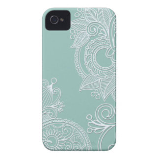 Embossed Paisley iPhone 4s Case iPhone 4 Cases