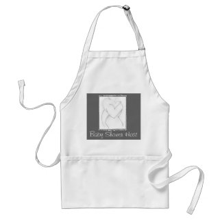 Embrace baby shower Add your own color Aprons