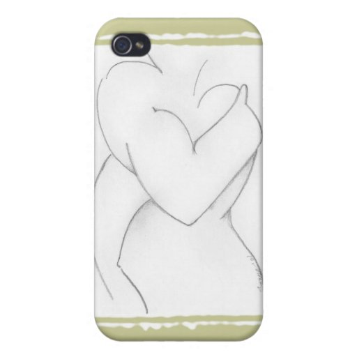 Embrace (baby shower) Add your own color Case For iPhone 4
