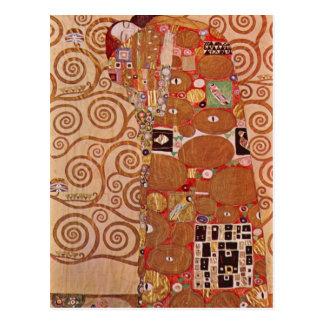 Embrace by Gustav Klimt Postcard