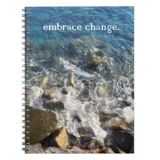 Embrace Change Notebook