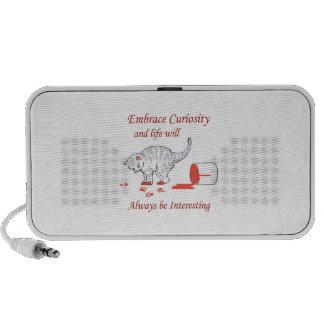 Embrace Curiosity iPhone Speakers
