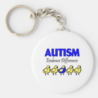 Embrace Differences Key Ring