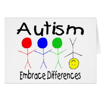 Embrace Differences (People) Card