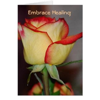 Embrace Healing Greeting Card