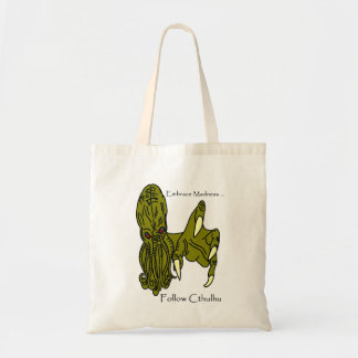 Embrace Madness Cthulhu Tote Bag