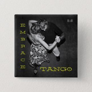 Embrace Tango 15 Cm Square Badge