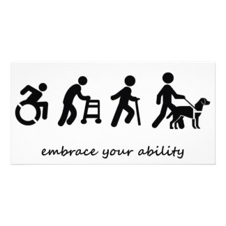 Embrace your ability card