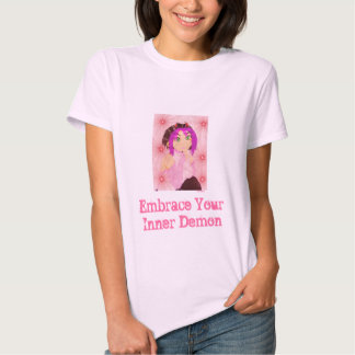 Embrace Your Inner Demon Tee Shirts