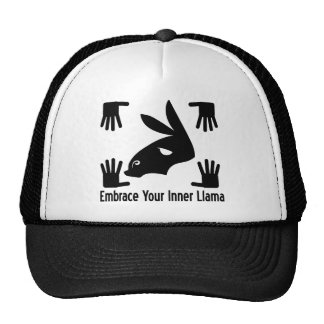 Embrace Your Inner Llama Mesh Hat