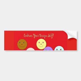 Embrace your Unique Self Bumper-Sticker Bumper Sticker