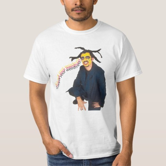 EMBRACE YOUR WEIRDNESS YELLOW FACE GUY T-Shirt