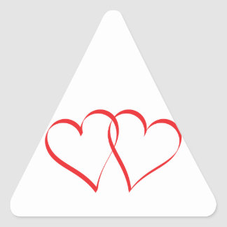 Embracing Hearts Sticker