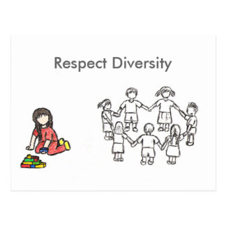 Embracing the Diversity Post Card
