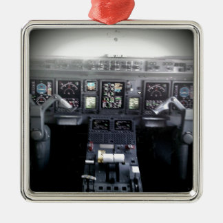 Embraer 145 Flight Deck Christmas Ornament