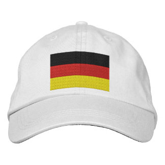 Embroider German Germany Flag Embroidered Hat