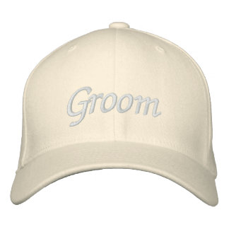 Embroider Gifts Groom Hat | Cap Embroidered Hat