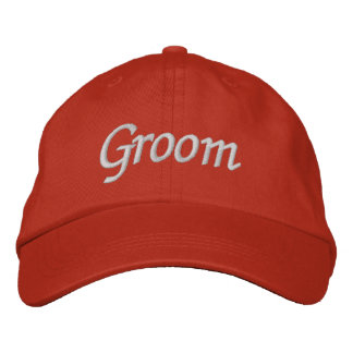 Embroider Gifts Groom Hat Cap Embroidered Hats