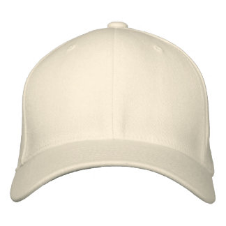 Embroider Your Own Flexfit Cap - Natural Embroidered Baseball Cap