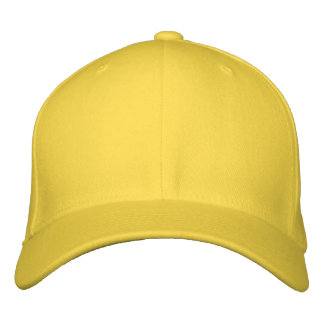 Embroider your own Lemon Flexfit Wool Cap Embroidered Baseball Caps