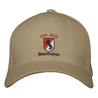 Embroidered 11th Acr Hat Embroidered Baseball Cap