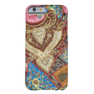 Embroidered and Beaded Textile Barely There iPhone 6 Case