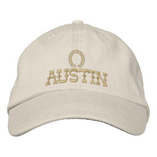 Embroidered Austin Texas Cap Embroidered Hats