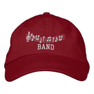 Embroidered Band Cap Embroidered Hat