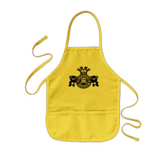 Embroidered_Bear Kids Apron