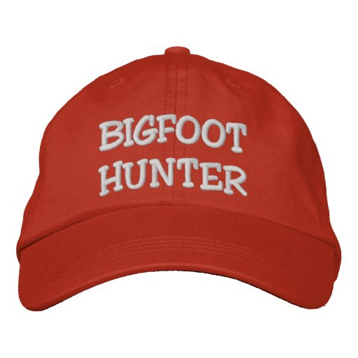 Embroidered BIGFOOT HUNTER Hat - *BOBO* Edition Embroidered Hats