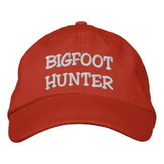 Embroidered BIGFOOT HUNTER Hat - BOBO Edition Embroidered Hats