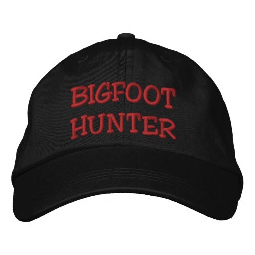 Embroidered BIGFOOT HUNTER Hat - *BOBO* Edition Embroidered Baseball Cap