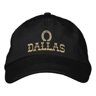 Embroidered Dallas Cap