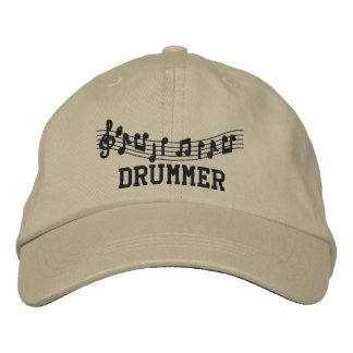 Embroidered Drummer Cap